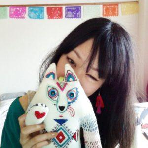 切り絵作家riya